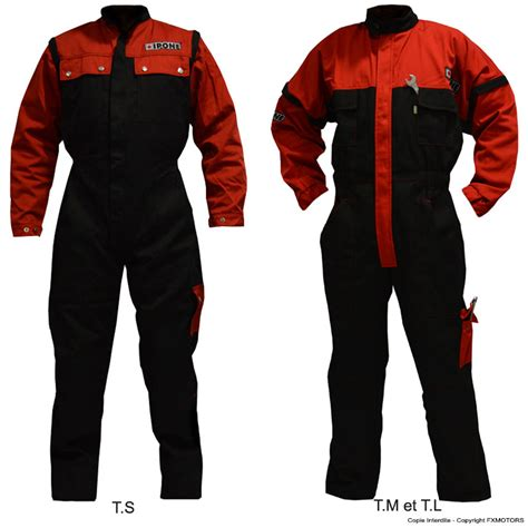 Combinaison De Travail Homme 1593 by Combinaison De Travail Homme M 195 169 Canique Moto