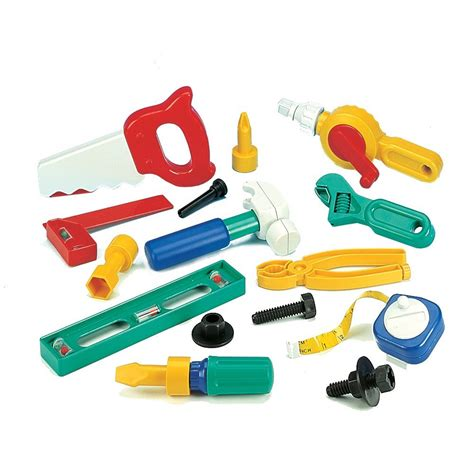 childrens tool set children s plastic tool set from early years resources uk