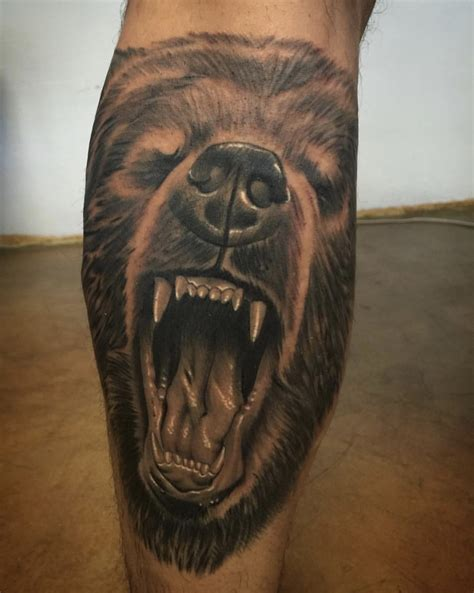 grizzly tattoo grizzly tattoos designs ideas and meaning tattoos