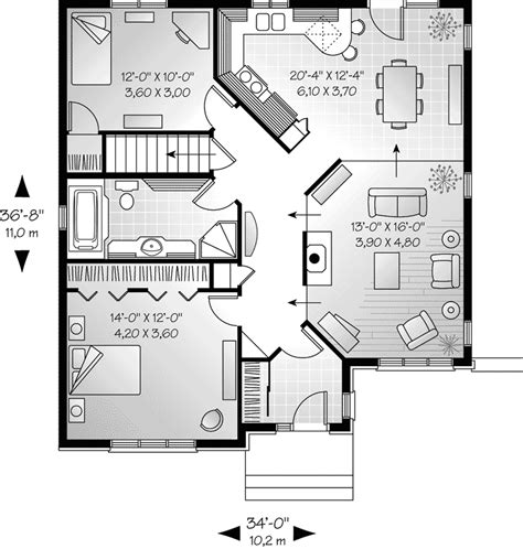 monte vista vacation home plan 032d 0690 house plans and