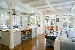 room open plan kitchen