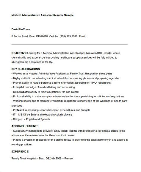 medical assistant skills list for resume sample stibera resumes