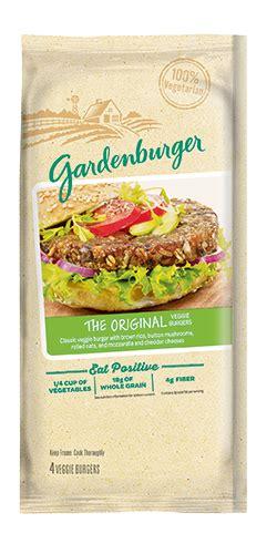 Garden Burger Nutrition by Gardenburger 174 Veggie Burgers The Original Veggie Burger