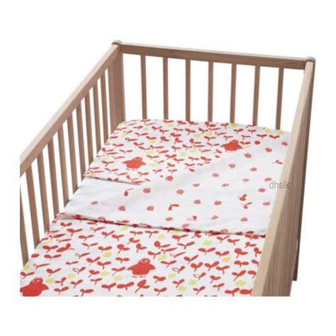 duvet cover for crib comforter ikea vilda uggla orange owl crib duvet cover pillowcase