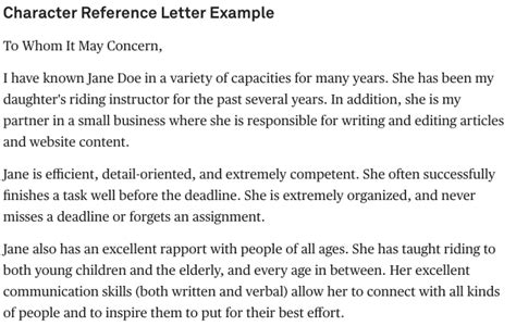 Reference Letter Known Person tips to write a letter of recommendation easily and