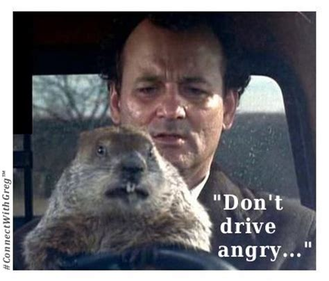 groundhog day you don t me don t drive angry groundhogday groundhog day