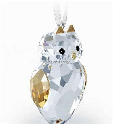 swarovski swarovski christmas ornament owl 5135848