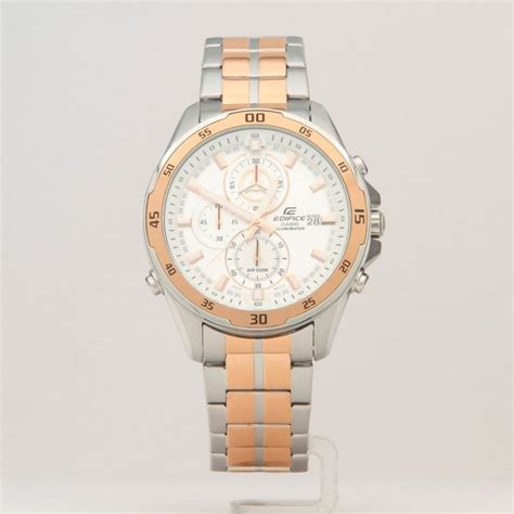 Casio Edifice Efr 547sg 7a9vudf Withe Gold for casio efr 547sg 7a brasty co uk