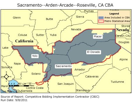 roseville california map cbic 2 competitive bidding area sacramento