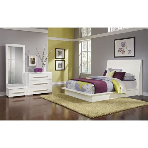 dimora black ii 7 pc queen bedroom value city furniture dimora 5 piece queen panel bedroom set white value