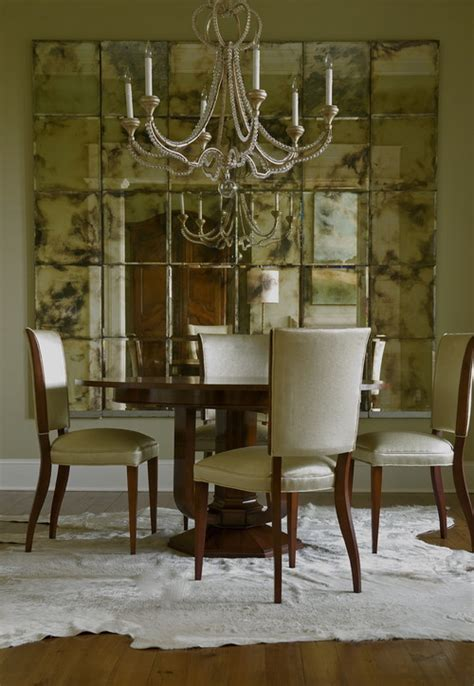 mirror dining room decorate dining rooms with large mirrors