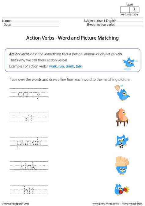 all worksheets 187 doing words worksheets for grade 1