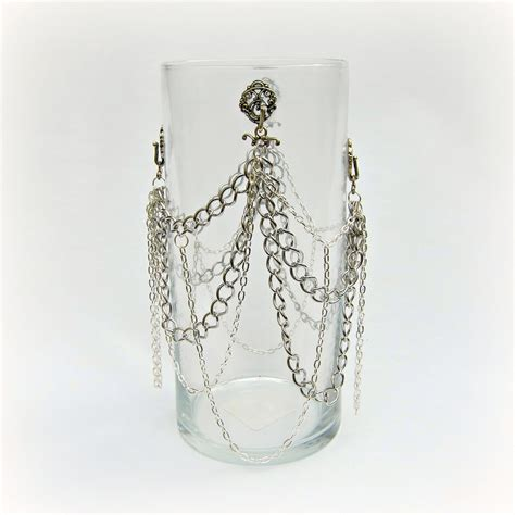 Anthropologie Vase by Make An Anthropologie Knock Chained Vase Tutorial