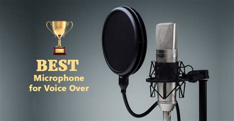 best voice best microphone for voice sound injections