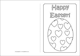 easter card templates to colour 75 easter egg colouring pages sparklebox easter egg