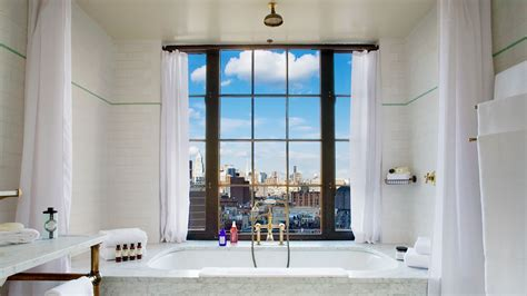 bathtubs nyc the bowery hotel new york united states