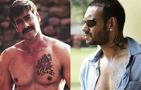 bollywood celebs and their tattoos and their interesting tattoos