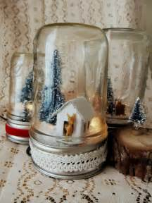 Mason Jar Centerpieces For Christmas - diy light up mason jar christmas scene