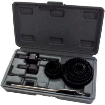 Saw Kit Set Hitam 13 Pcs jual nankai holesaw set kit saw mata bor pelubang