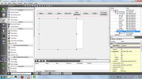 qt designer layout fixed size c add scrollbar in qt window stack overflow