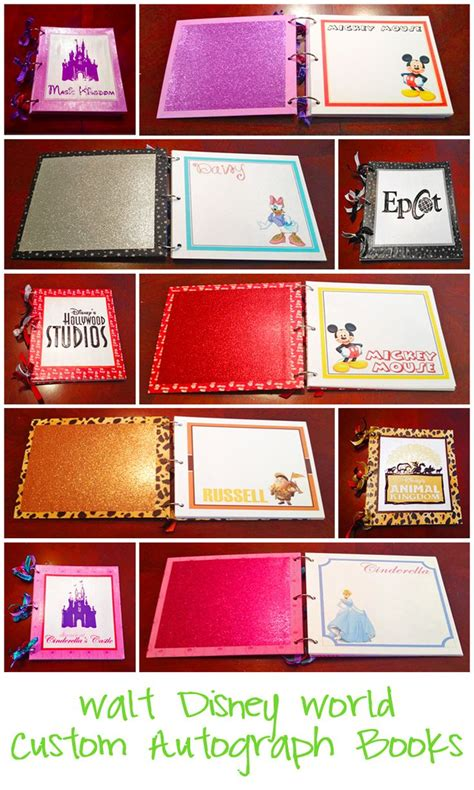 Handmade Disney Autograph Books - 17 best images about free disney autograph books on