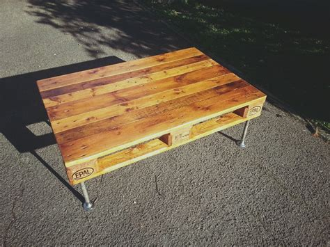 diy coffee table pipe legs 20 diy pallet coffee table ideas do it yourself ideas