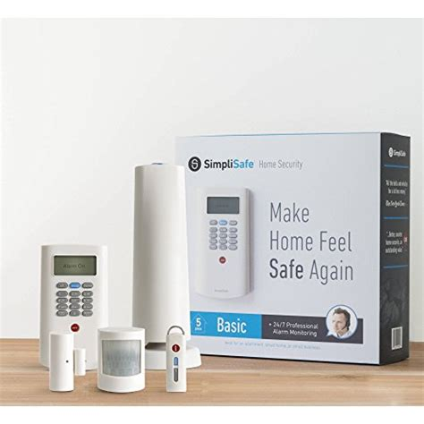 simplisafe wireless home security basic pack electronics