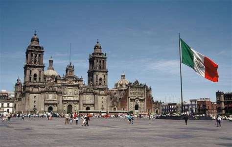 zocalo plaza mexico city 48 hours in mexico city go 4 travel blog