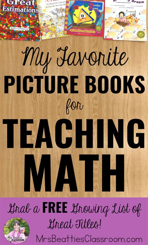 teaching math with picture books some of the best picture books for teaching math mrs