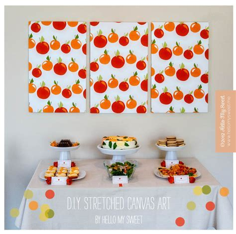 DIY Ways to Decorate a Blank Canvas   Canvas Decorating Crafts