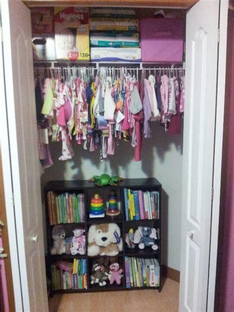 Kenzies Closet by Organizing An Infants Closet Kenzies Second Closet