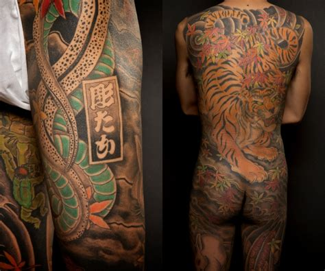 japanese full body tattoo history traditional japanese style tattoos and their history