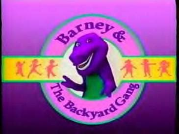 barney the backyard gang barney and the backyard gang