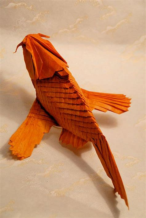 Origami Koi Carp - 29 best images about origami on origami cranes