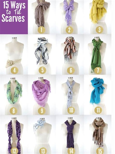 7 Ways To Tie A Scarf Or Pashmina by 17 Best Images About Scarves On Tie Scarves