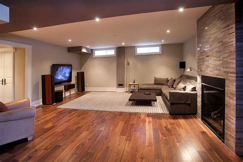 hardwood floor basement 17 basement flooring designs ideas design trends