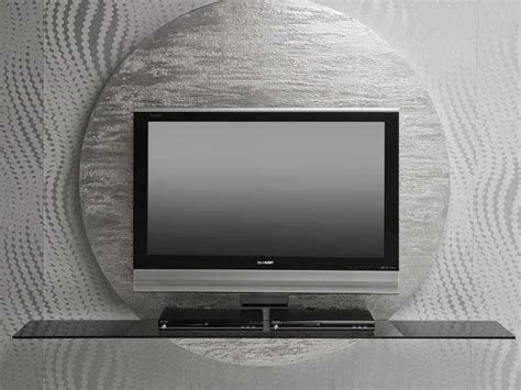 modern tv contemporary round black white tv stands from pacini cappellini digsdigs