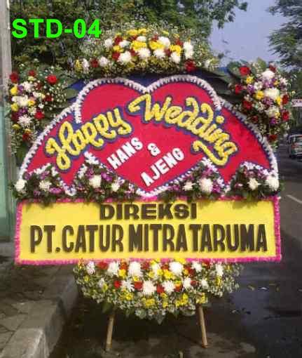 Karangan Bunga Papan Wedding 85733280003 karangan bunga papan wedding pernikahan toko bunga di