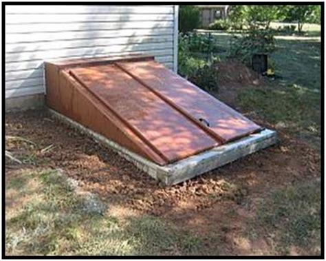 removing rust paint metal bilco doors