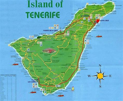 printable map tenerife large tenerife maps for free download and print high