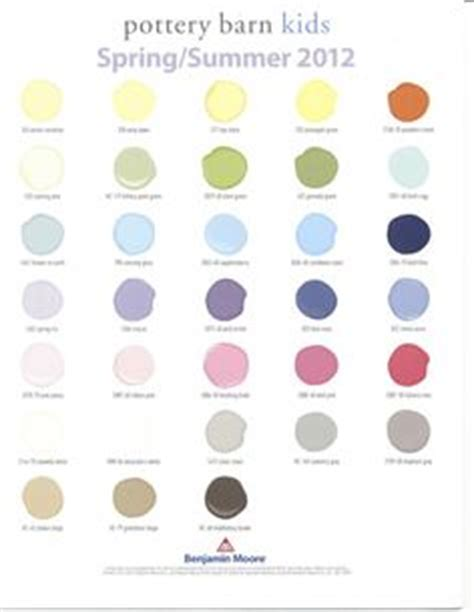 benjamin paint colors december 2010 pottery barn s room ideas