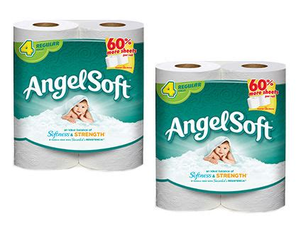 softest bathroom tissue angel soft bath tissue solo 0 14 por rollo en dollar tree