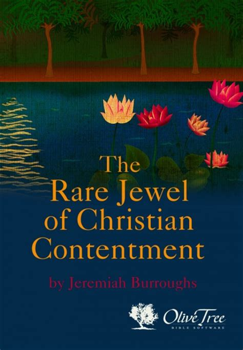 rare jewel  christian contentment  jeremiah