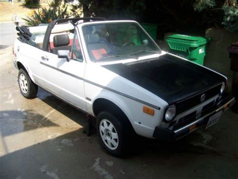 1982 Volkswagen Rabbit Convertible by Purchase Used 1982 Vw Rabbit Convertible Condition