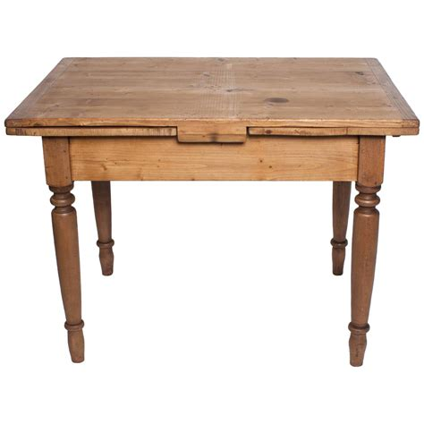 what is a draw leaf table pine and beechwood draw leaf table at 1stdibs