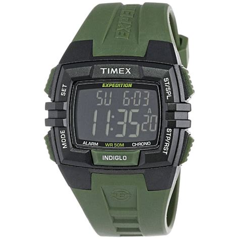 timex t49903 expedition rugged wide digital cat black