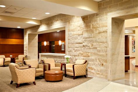 commercial interior design of moore regional hospital with