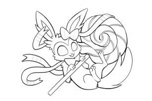all eeveelutions coloring pages