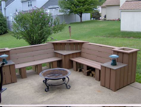 outdoor patio table bench tips for your own outdoor furniture diy pergola