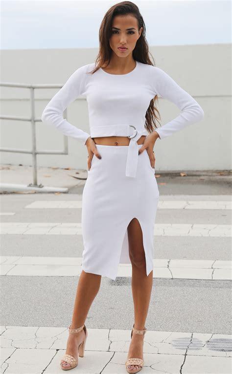white high waisted pencil skirt www pixshark